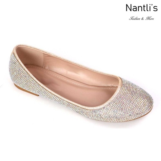MC-Merina-21 Champagne Zapatos de Mujer Mayoreo Wholesale Women flats Shoes Nantlis