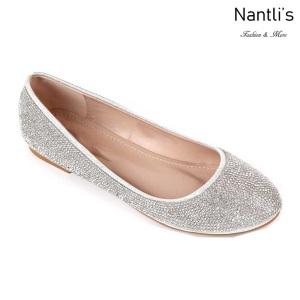 MC-Merina-21 Silver Zapatos de Mujer Mayoreo Wholesale Women flats Shoes Nantlis