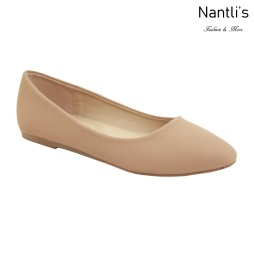 MC-Tracy-8 Taupe Nubuck Zapatos de Mujer Mayoreo Wholesale Women flats Shoes Nantlis