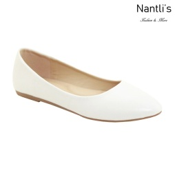 MC-Tracy-8 White Zapatos de Mujer Mayoreo Wholesale Women flats Shoes Nantlis