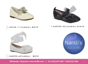 Nantlis Vol BLK26 Zapatos de ninas mayoreo Catalogo Wholesale girls kids Shoes_Page_19