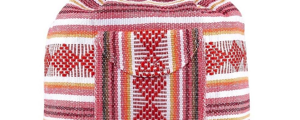 TM74259 Mochila Mexicana Mexicana Mayoreo Wholesale Mexican Backpack Nantlis Tradicion de Mexico