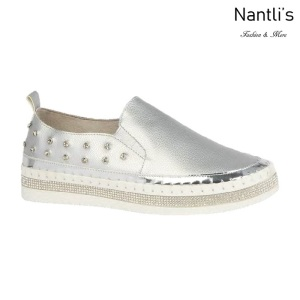 BL-Alexis-3 Silver Zapatos tennis de Mujer Mayoreo Wholesale Women sneakers Shoes Nantlis
