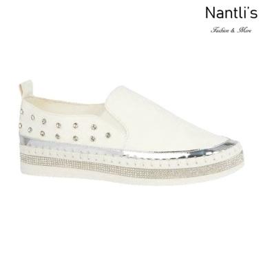 BL-Alexis-3 White Zapatos tennis de Mujer Mayoreo Wholesale Women sneakers Shoes Nantlis