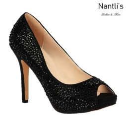 BL-Barbara-100 Black Zapatos de Mujer elegantes Tacon Alto Mayoreo Wholesale Womens Hi-Heels Fancy Shoes Nantlis