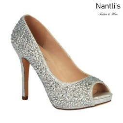 BL-Barbara-100 Silver Zapatos de Mujer elegantes Tacon Alto Mayoreo Wholesale Womens Hi-Heels Fancy Shoes Nantlis