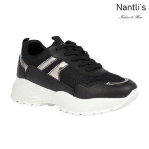BL-Bella-20 Black Zapatos tennis de Mujer Mayoreo Wholesale Women sneakers Shoes Nantlis