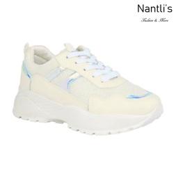 BL-Bella-20 White Zapatos tennis de Mujer Mayoreo Wholesale Women sneakers Shoes Nantlis