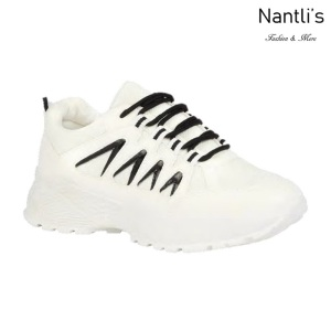 BL-Bella-21 White-black Zapatos tennis de Mujer Mayoreo Wholesale Women sneakers Shoes Nantlis