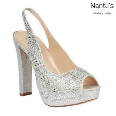 BL-Carina-116C Silver Zapatos de Mujer elegantes Tacon Alto Mayoreo Wholesale Womens Hi-Heels Fancy Shoes Nantlis