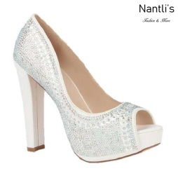 BL-Carina-126B White Zapatos de Mujer elegantes Tacon Alto Mayoreo Wholesale Womens Hi-Heels Fancy Shoes Nantlis