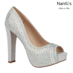 BL-Carina-126C Silver Zapatos de Mujer elegantes Tacon Alto Mayoreo Wholesale Womens Hi-Heels Fancy Shoes Nantlis