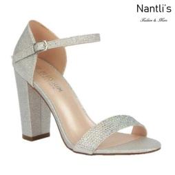 BL-Celina-12 Silver Zapatos de Mujer elegantes Tacon medio Mayoreo Wholesale Womens Mid-Heels Fancy Shoes Nantlis