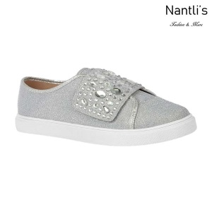BL-Cherry-44 Silver Zapatos tennis de Mujer Mayoreo Wholesale Women sneakers Shoes Nantlis