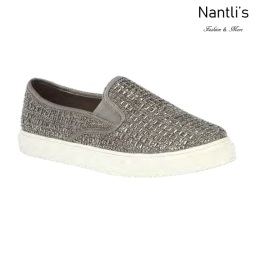 BL-Cherry-82 Pewter Zapatos tennis de Mujer Mayoreo Wholesale Women sneakers Shoes Nantlis