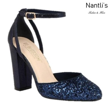 BL-Dawn-1 Navy Zapatos de Mujer elegantes Tacon Alto Mayoreo Wholesale Womens Hi-Heels Fancy Shoes Nantlis