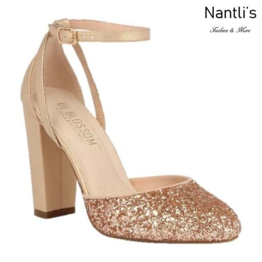 BL-Dawn-1 Rose Gold Zapatos de Mujer elegantes Tacon Alto Mayoreo Wholesale Womens Hi-Heels Fancy Shoes Nantlis