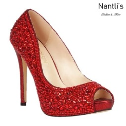 BL-Eternity-128 Red Zapatos de Mujer elegantes Tacon Alto Mayoreo Wholesale Womens Hi-Heels Fancy Shoes Nantlis