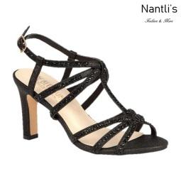 BL-Janet-16 Black Zapatos de Mujer elegantes Tacon medio Mayoreo Wholesale Womens Mid-Heels Fancy Shoes Nantlis