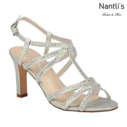 BL-Janet-16 Silver Zapatos de Mujer elegantes Tacon medio Mayoreo Wholesale Womens Mid-Heels Fancy Shoes Nantlis