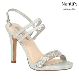 BL-Jean-12 Silver Zapatos de Mujer elegantes Tacon Alto Mayoreo Wholesale Womens Hi-Heels Fancy Shoes Nantlis