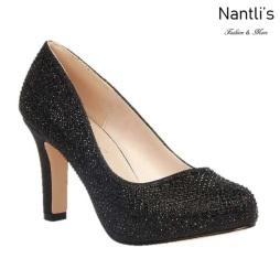 BL-Jonny-10 Black Zapatos de Mujer elegantes Tacon medio Mayoreo Wholesale Womens Mid-Heels Fancy Shoes Nantlis