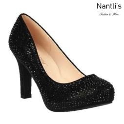BL-Jonny-17 Black Zapatos de Mujer elegantes Tacon medio Mayoreo Wholesale Womens Mid-Heels Fancy Shoes Nantlis