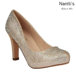 BL-Jonny-17 Nude Zapatos de Mujer elegantes Tacon medio Mayoreo Wholesale Womens Mid-Heels Fancy Shoes Nantlis