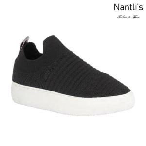 BL-Kennedy-1 Black Zapatos tennis de Mujer Mayoreo Wholesale Women sneakers Shoes Nantlis
