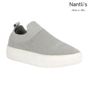 BL-Kennedy-1 Grey Zapatos tennis de Mujer Mayoreo Wholesale Women sneakers Shoes Nantlis
