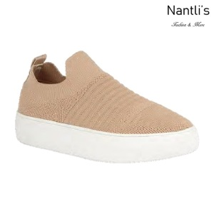 BL-Kennedy-1 Nude Zapatos tennis de Mujer Mayoreo Wholesale Women sneakers Shoes Nantlis