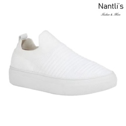 BL-Kennedy-1 White Zapatos tennis de Mujer Mayoreo Wholesale Women sneakers Shoes Nantlis