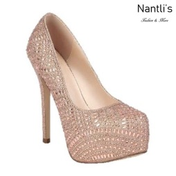 BL-Kinko-200 Rose Gold Zapatos de Mujer elegantes Tacon Alto Mayoreo Wholesale Womens Hi-Heels Fancy Shoes Nantlis