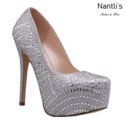 BL-Kinko-200 Silver Zapatos de Mujer elegantes Tacon Alto Mayoreo Wholesale Womens Hi-Heels Fancy Shoes Nantlis