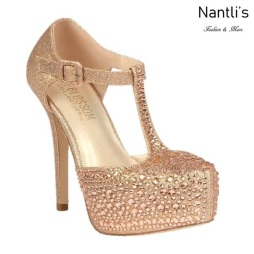 BL-Kinko-201 Rose Gold Zapatos de Mujer elegantes Tacon Alto Mayoreo Wholesale Womens Hi-Heels Fancy Shoes Nantlis