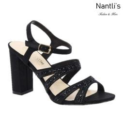 BL-Lilia-5 Black Zapatos de Mujer elegantes Tacon medio Mayoreo Wholesale Womens Mid-Heels Fancy Shoes Nantlis