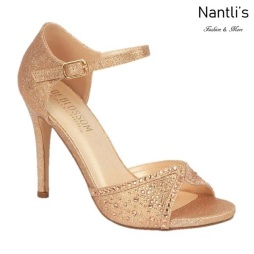 BL-Macy-85 Rose Gold Zapatos de Mujer elegantes Tacon Alto Mayoreo Wholesale Womens Hi-Heels Fancy Shoes Nantlis