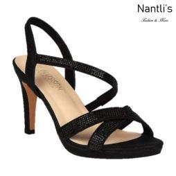 BL-Maggie-21 Black Zapatos de Mujer elegantes Tacon medio Mayoreo Wholesale Womens Mid-Heels Fancy Shoes Nantlis
