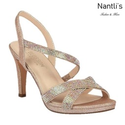 BL-Maggie-21 Blush Zapatos de Mujer elegantes Tacon medio Mayoreo Wholesale Womens Mid-Heels Fancy Shoes Nantlis