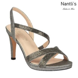 BL-Maggie-21 Pewter Zapatos de Mujer elegantes Tacon medio Mayoreo Wholesale Womens Mid-Heels Fancy Shoes Nantlis