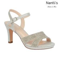 BL-Nicole-11 Silver Zapatos de Mujer elegantes Tacon medio Mayoreo Wholesale Womens Mid-Heels Fancy Shoes Nantlis