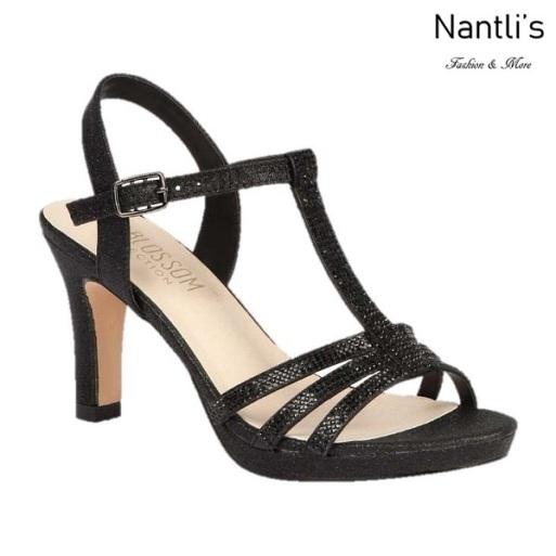BL-Nicole-20 Black Zapatos de Mujer elegantes Tacon medio Mayoreo Wholesale Womens Mid-Heels Fancy Shoes Nantlis