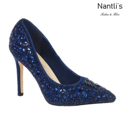 BL-Renzo-150 Navy Zapatos de Mujer elegantes Tacon Alto Mayoreo Wholesale Womens Hi-Heels Fancy Shoes Nantlis