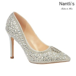 BL-Renzo-150 Silver Zapatos de Mujer elegantes Tacon Alto Mayoreo Wholesale Womens Hi-Heels Fancy Shoes Nantlis