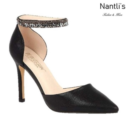 BL-Renzo-65 Black Zapatos de Mujer elegantes Tacon Alto Mayoreo Wholesale Womens Hi-Heels Fancy Shoes Nantlis