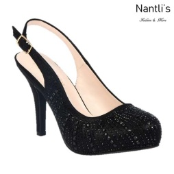 BL-Robin-260 Black Zapatos de Mujer elegantes Tacon medio Mayoreo Wholesale Womens Mid-Heels Fancy Shoes Nantlis