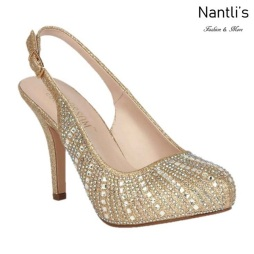 BL-Robin-260 gold Zapatos de Mujer Mayoreo Wholesale Women Heels Bridal Shoes Nantlis