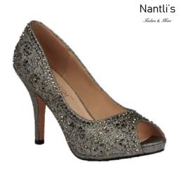 BL-Robin-263 Pewter Zapatos de Mujer elegantes Tacon medio Mayoreo Wholesale Womens Mid-Heels Fancy Shoes Nantlis