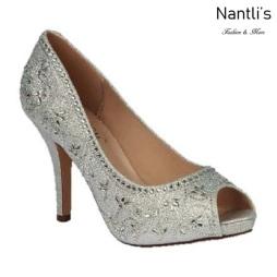 BL-Robin-263 Silver Zapatos de Mujer elegantes Tacon medio Mayoreo Wholesale Womens Mid-Heels Fancy Shoes Nantlis