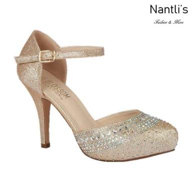 BL-Robin-266 Nude Zapatos de Mujer elegantes Tacon medio Mayoreo Wholesale Womens Mid-Heels Fancy Shoes Nantlis